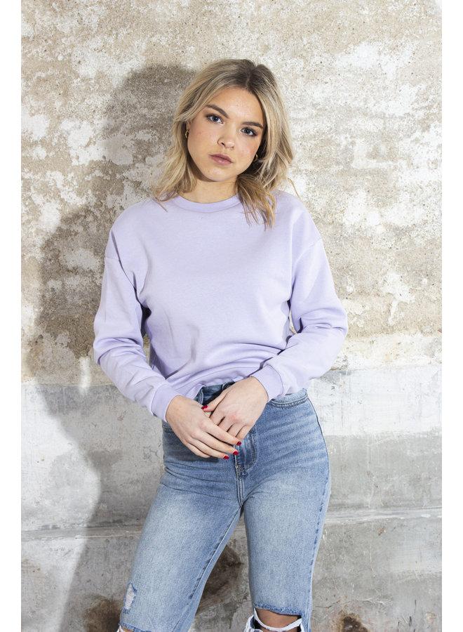 24COLOURS - Sweater - Lila (50657b)
