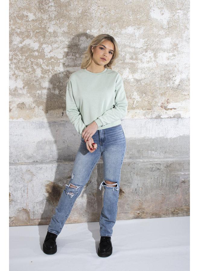 24COLOURS - Sweater - Mint (50657a)