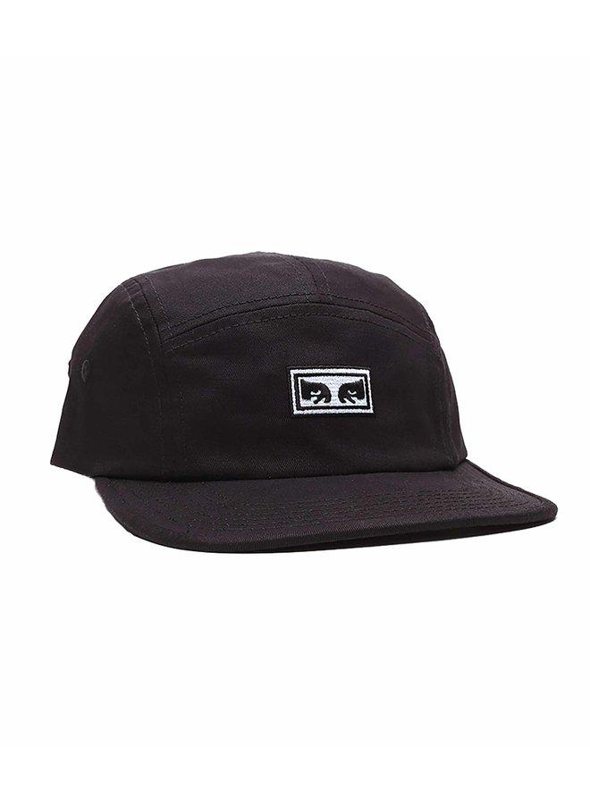 OBEY - Eyes 5 Panel Hat - Black