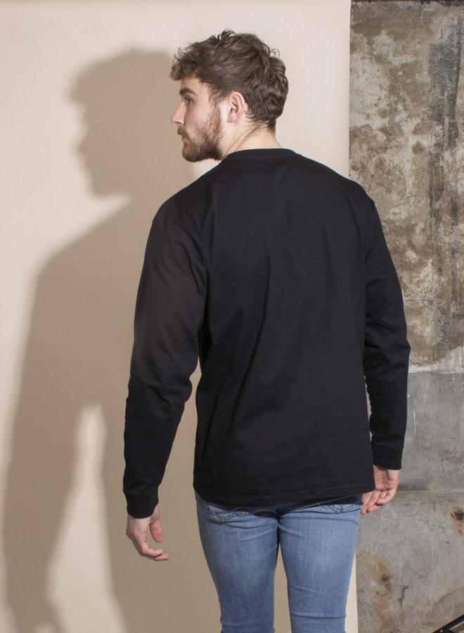 Carhartt Men - L/S Chase T-shirt - Black/Gold
