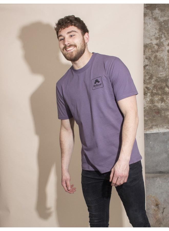 Carhartt Men - S/S Peace State T-shirt - Provence/Black
