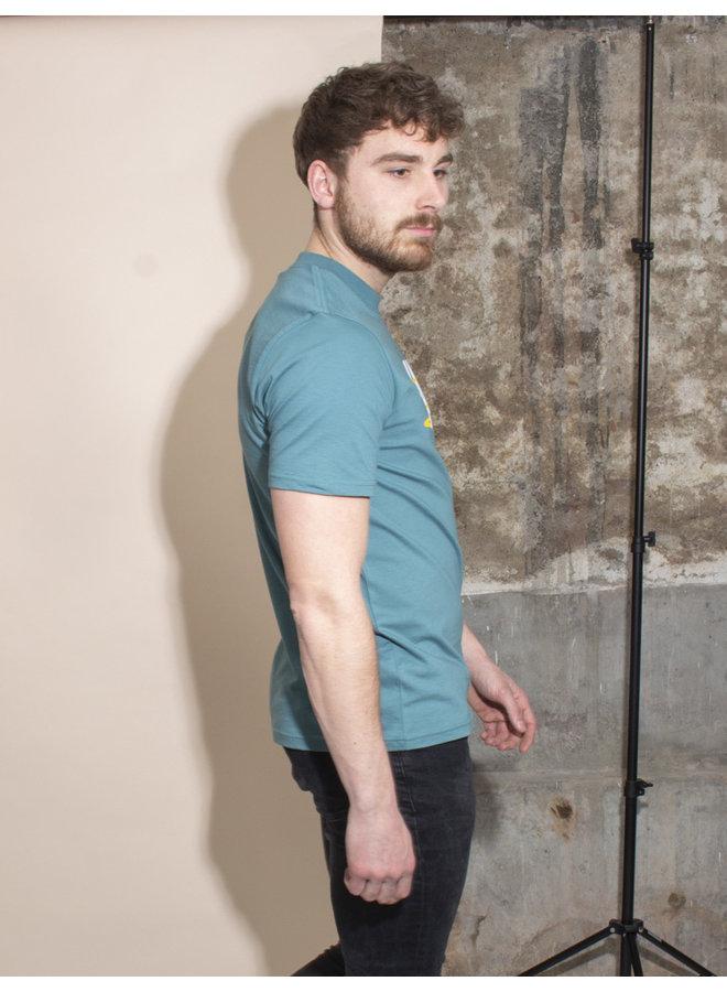 Carhartt Men - S/S Star Script T-shirt - Hydro