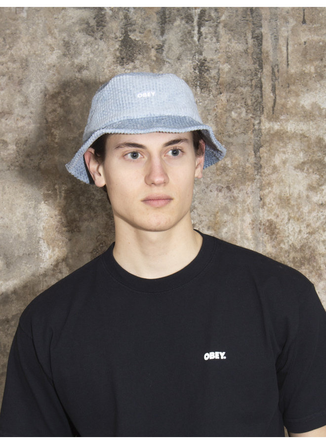 OBEY - Bold Cord Bucket Hat - Ice Blue