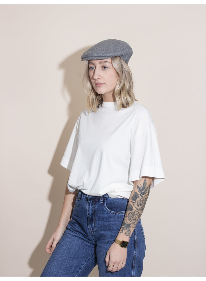Flat Cap - Light Grey
