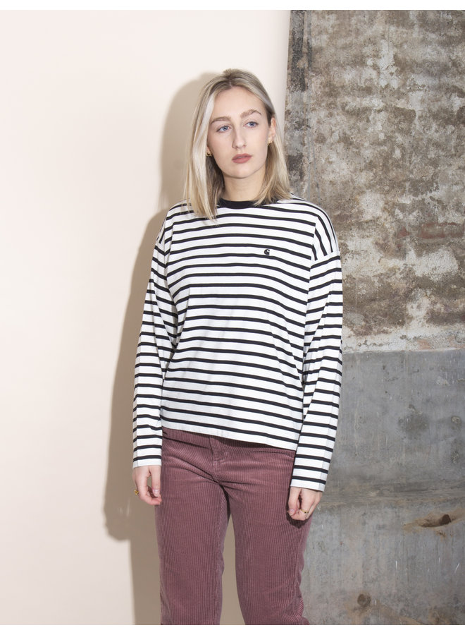 Carhartt Women - W´ L/S Robie T-shirt - Wax/Black