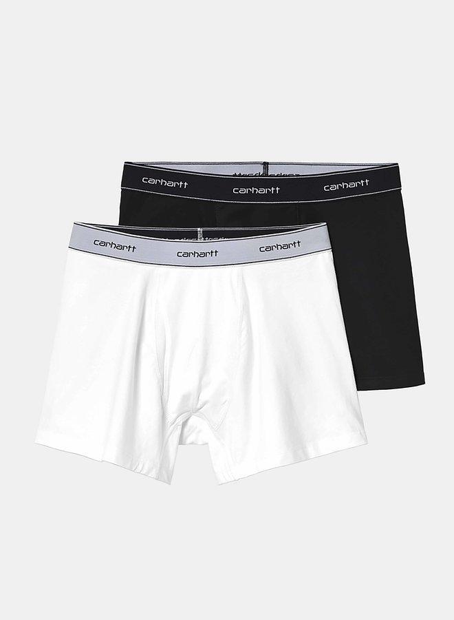 Carhartt Men - Cotton Trunks - Black/White