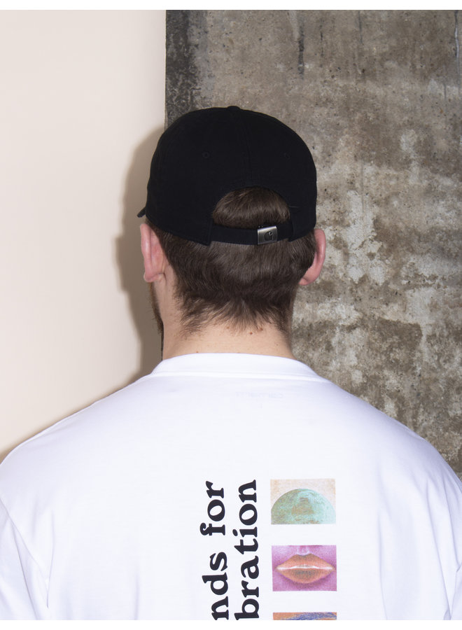Madison Logo Cap - Black/White