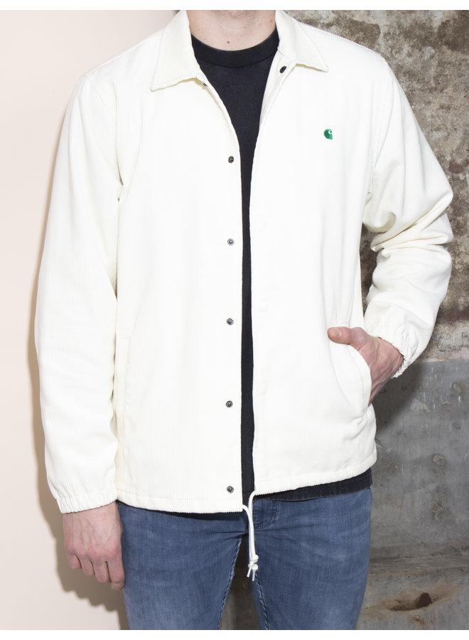 Carhartt Men - Corduroy Coach Jacket - Wax / Kingston