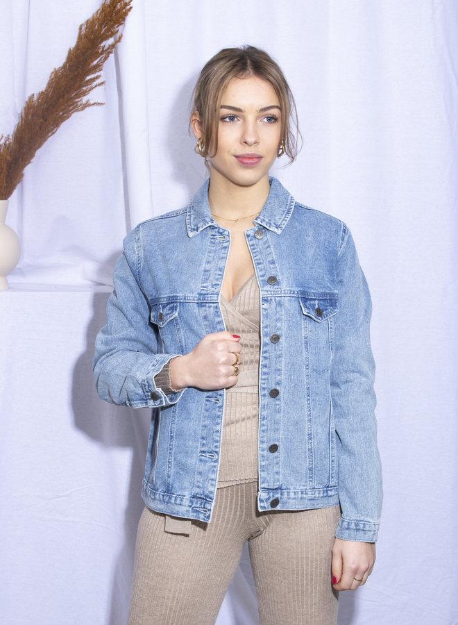 Rut&Circle - Lova Jeans Jacket - Mid Blue