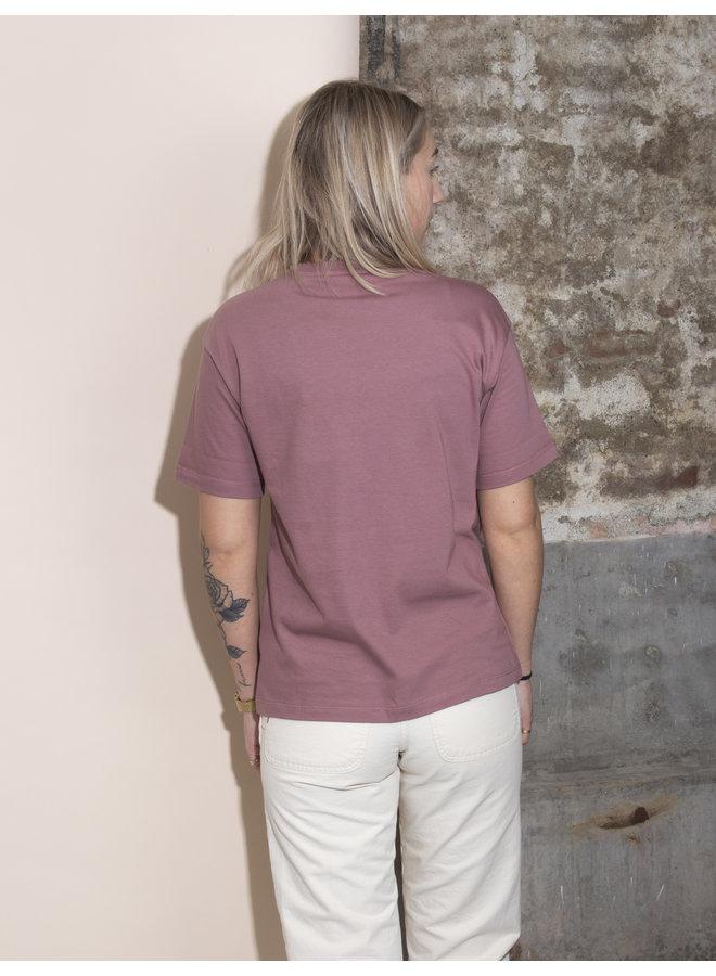 Carhartt Women - S/S Chase T-shirt - Malaga/Gold