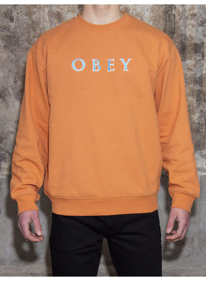 Obey Men - Nouvelle IV Crew - Pheasant