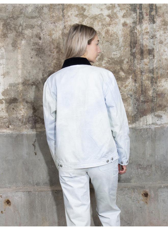 Obey Womens - Tie Dye Work Jacket - Good Grey Multi