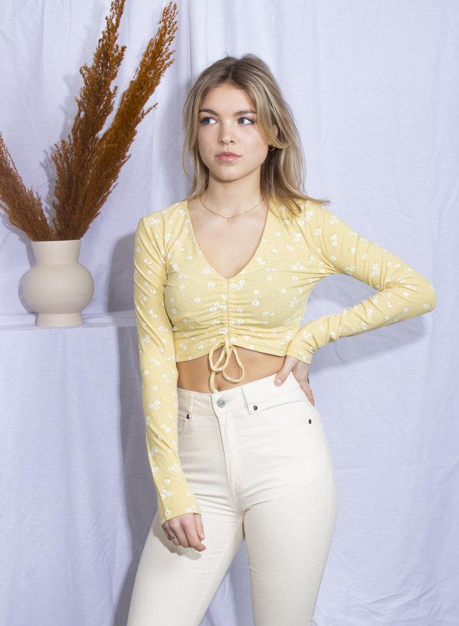 Valerie Top - Yellow