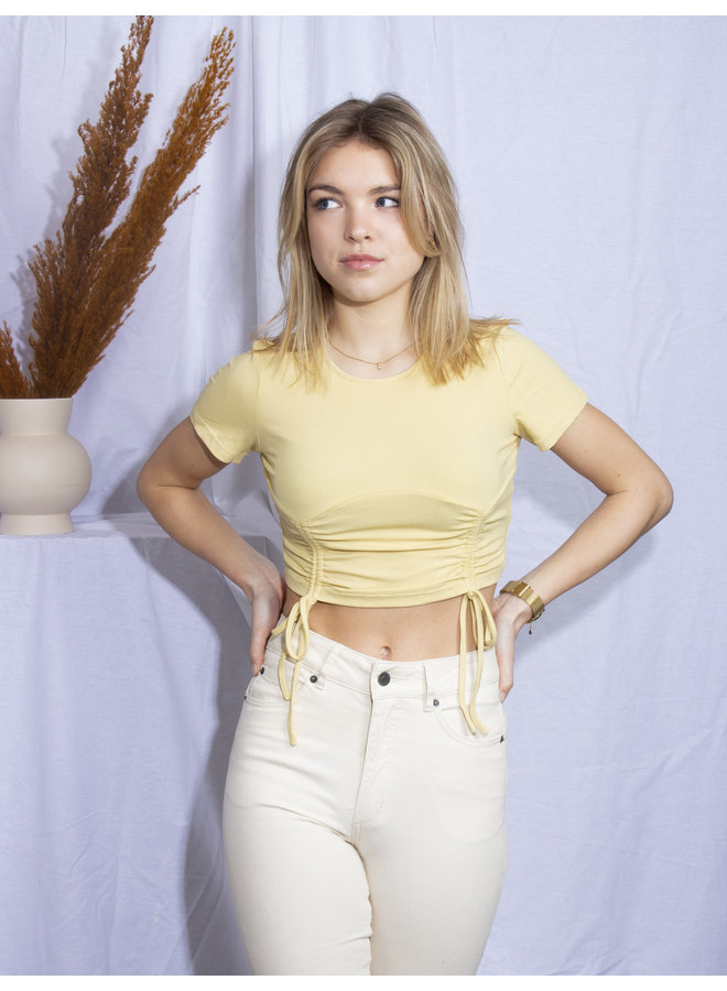 Joëlla Crop Top - Yellow