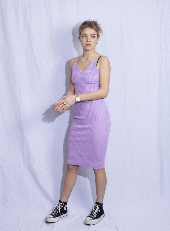 Lila Rib Dress