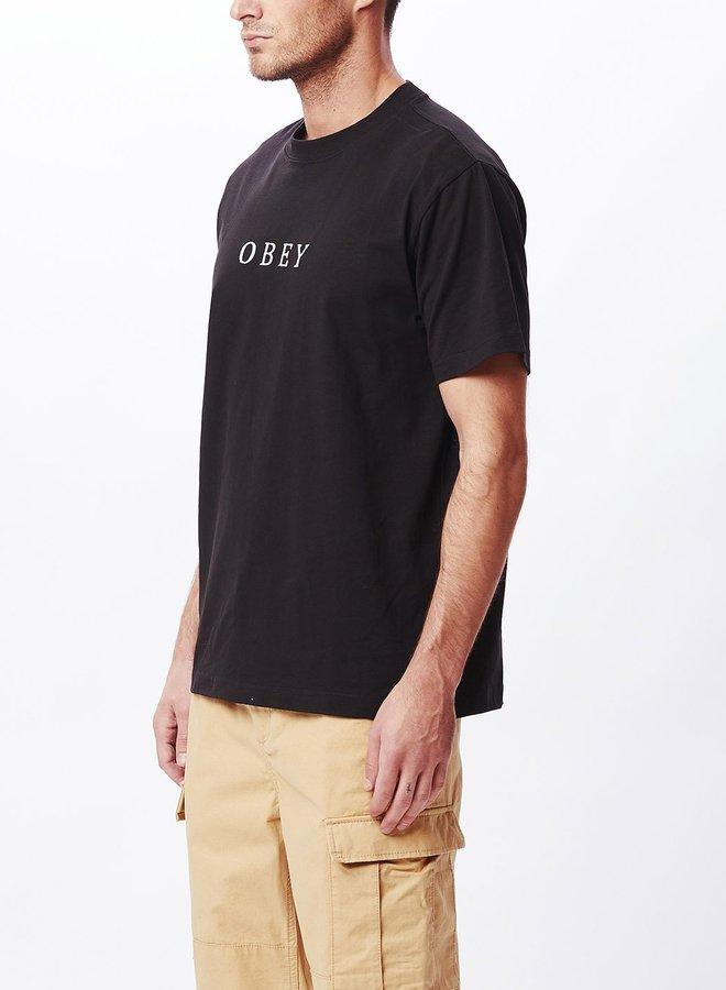 Obey Men - Smith Tee - Black