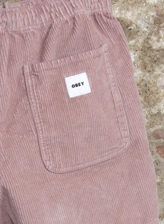 Obey Mens - Easy Od Cord Short - Gallnut