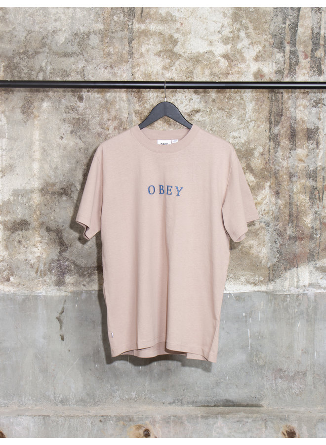 Obey Men - Smith Tee - Gallnut