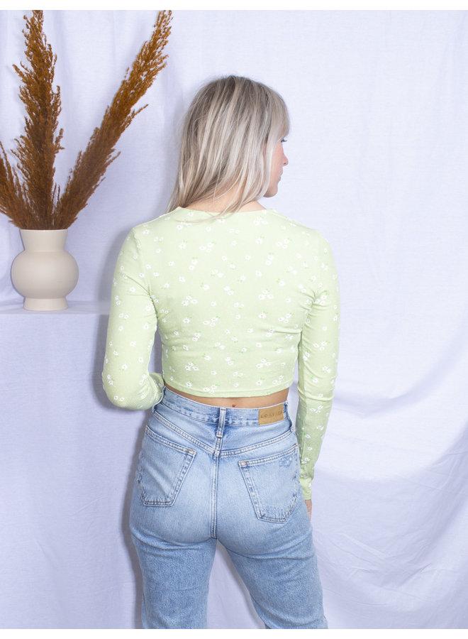 Valerie top Green
