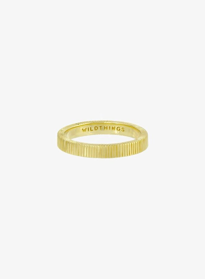 WILDTHINGS - Eternity Ring - Gold Plated