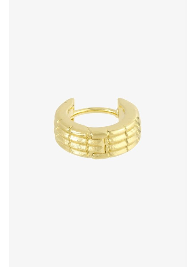 WILDTHINGS - Off Road Huggie - Gold Plated (Per Piece)