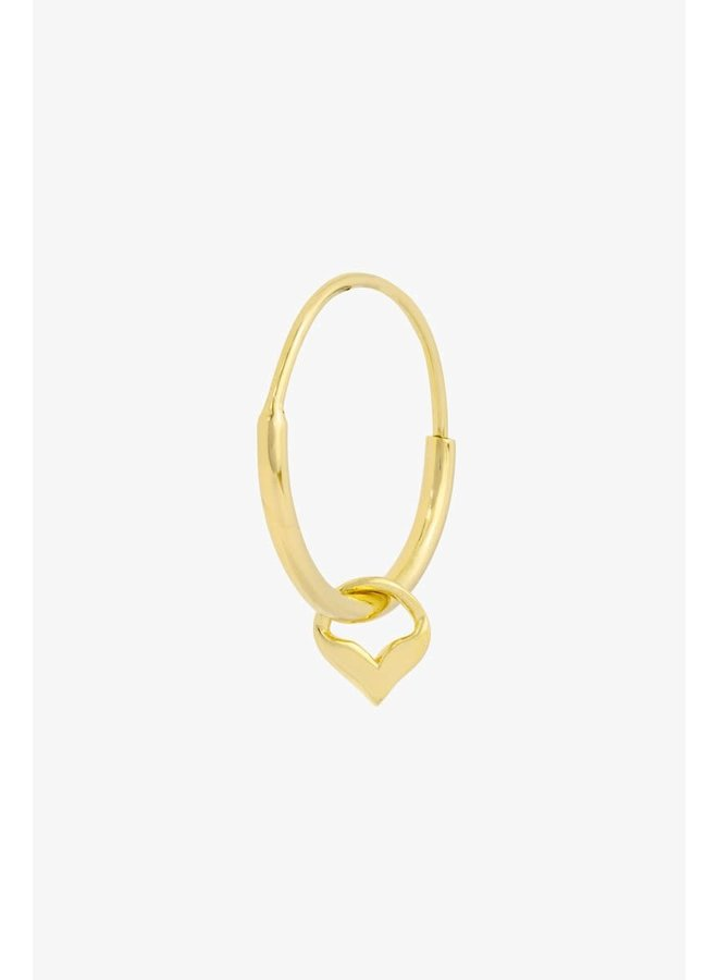 WILDTHINGS - Mermaid Hoop - Gold Plated (Per Piece)