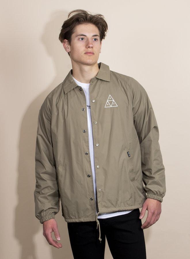 HUF - Essentials TT Coaches Jacket - Stone