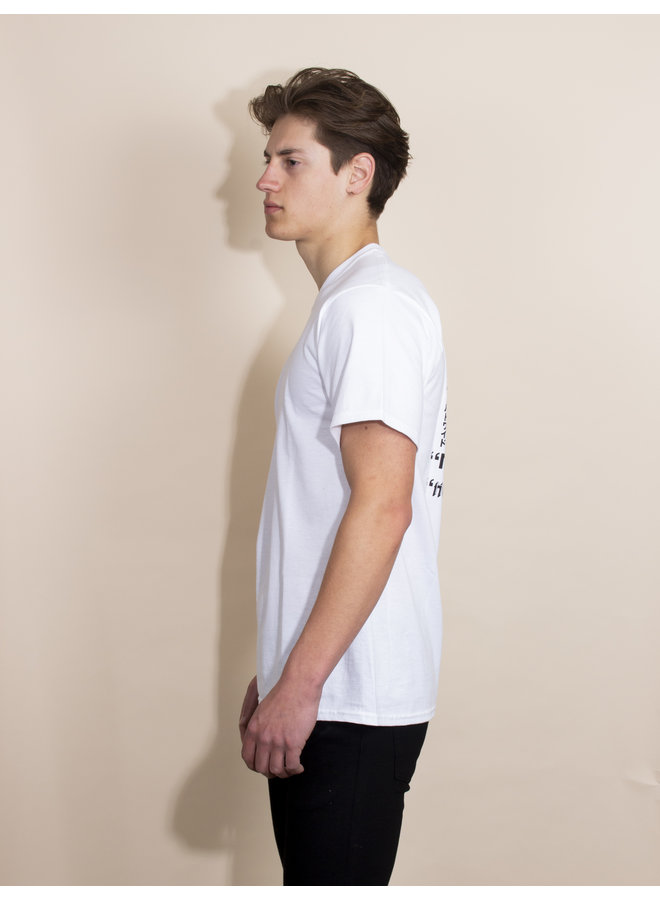 HUF - Never Yours S/S Tee - White