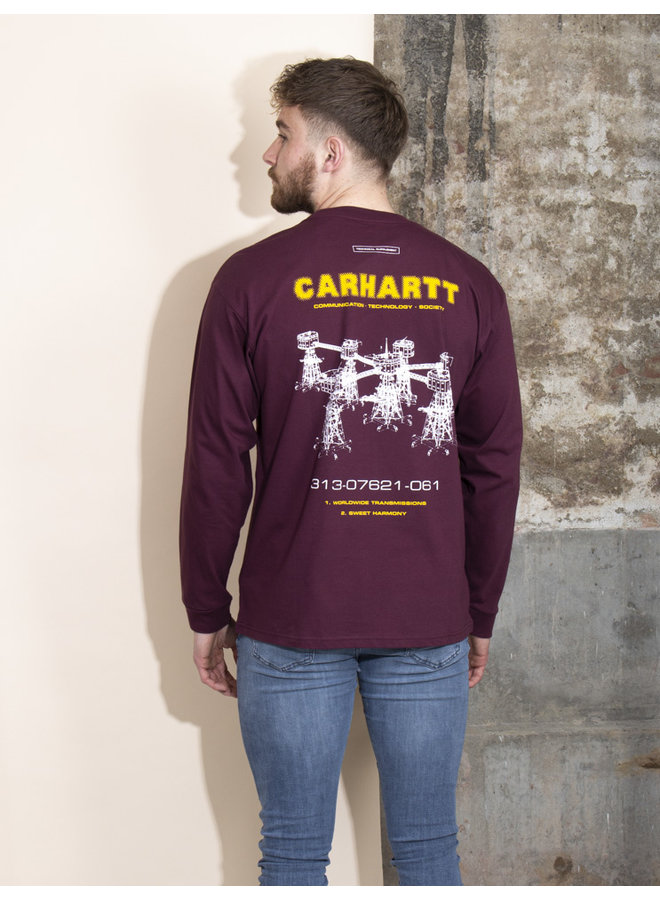 Carhartt Men - L/S Airwaves - Shiraz
