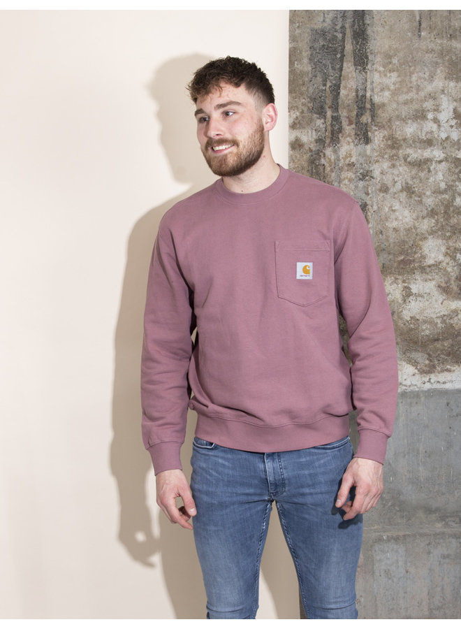 Carhartt Men - Pocket Sweatshirt - Malaga