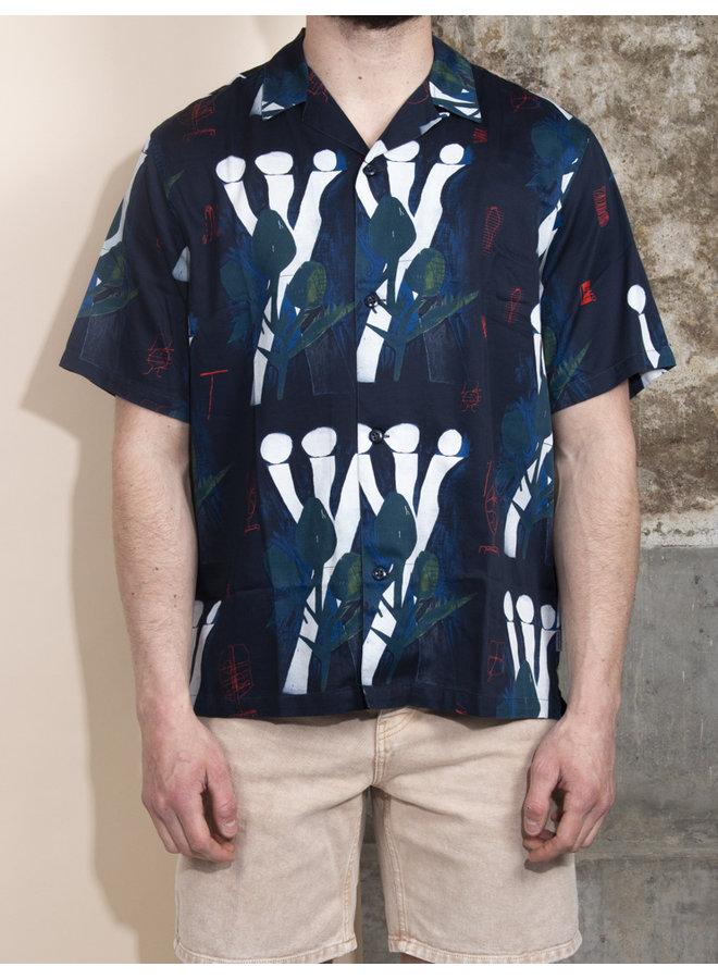 Carhartt Men - S/S Tom Krol Flowers Shirt - Flowers