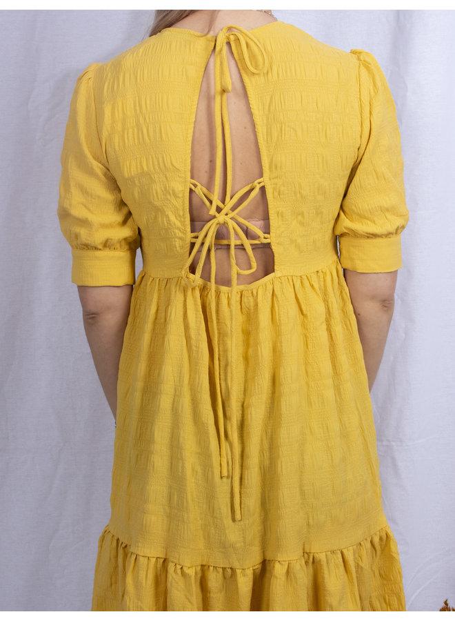 RUT&CIRCLE - Cornelia Dress - Yellow
