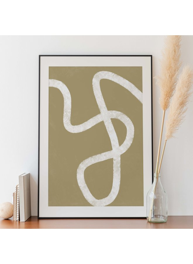 A2 POSTER - BEIGE