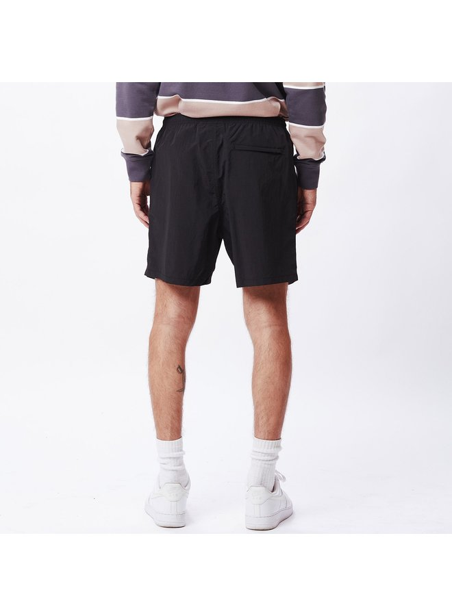 Obey Men - Easy Relaxed Short - Black