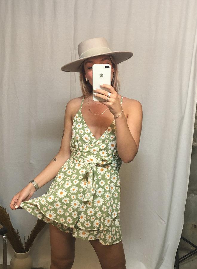 Daisy Playsuit - Green