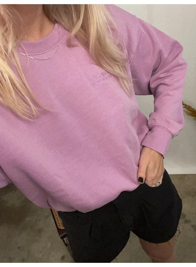 24COLOURS - Sweater Purple (50667b)