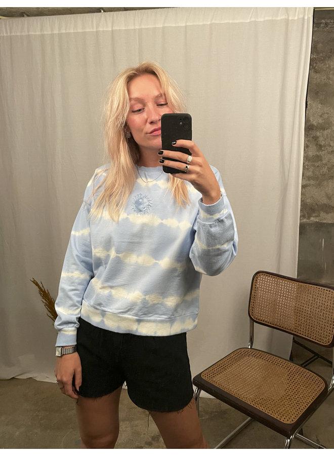 24COLOURS - Yin Yang Sweater - Blue (50664a)