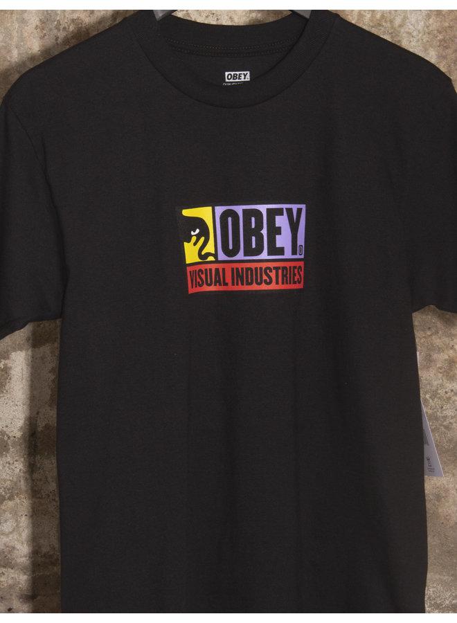 Obey Men - Visual Industries - Black