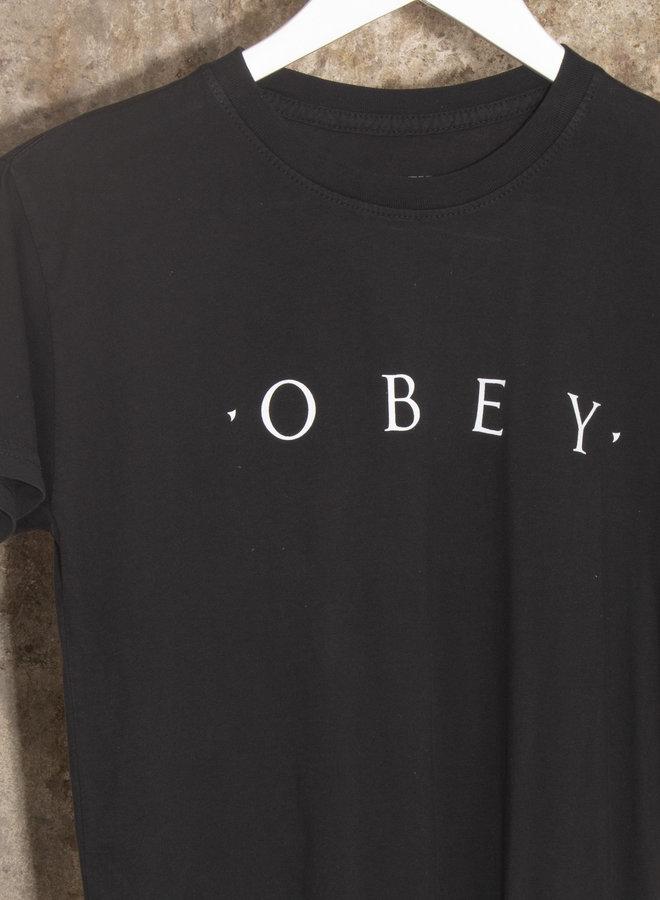 Obey Womens - Novel Obey - Off Black