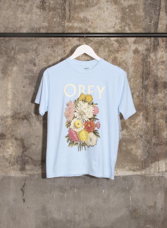 Obey Womens - Flower Bundle - Light Blue