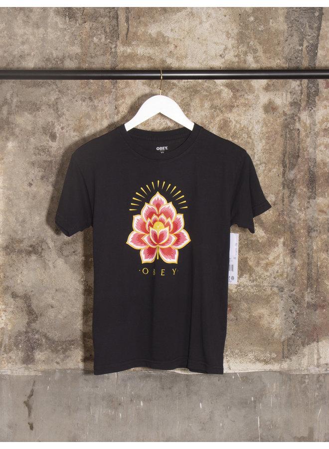 Obey Womens - Radiant Lotus - Black