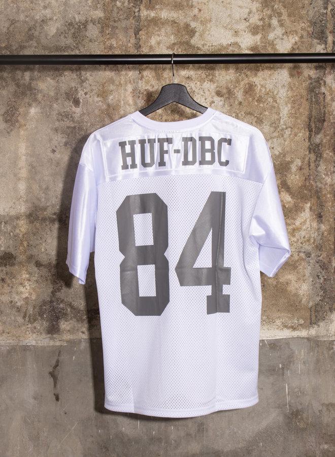 HUF - TOP RANK FOOTBALL JERSEY - WHITE