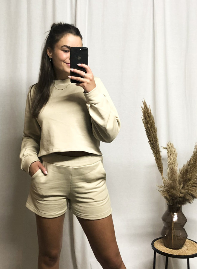 COLLECTION - Comfy Sweater Ecru