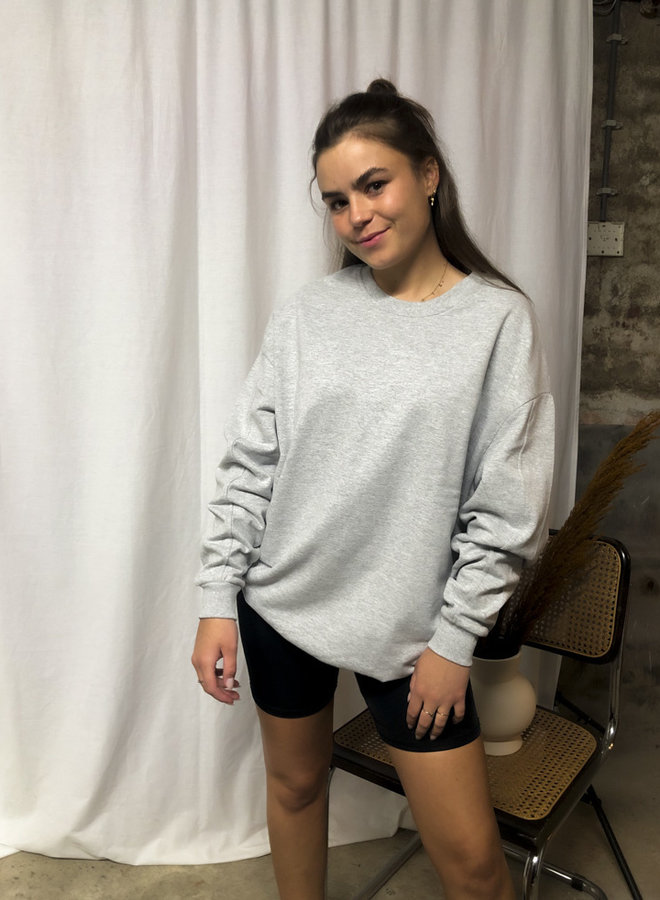 24COLOURS - Oversized Sweater Grey (50677d)