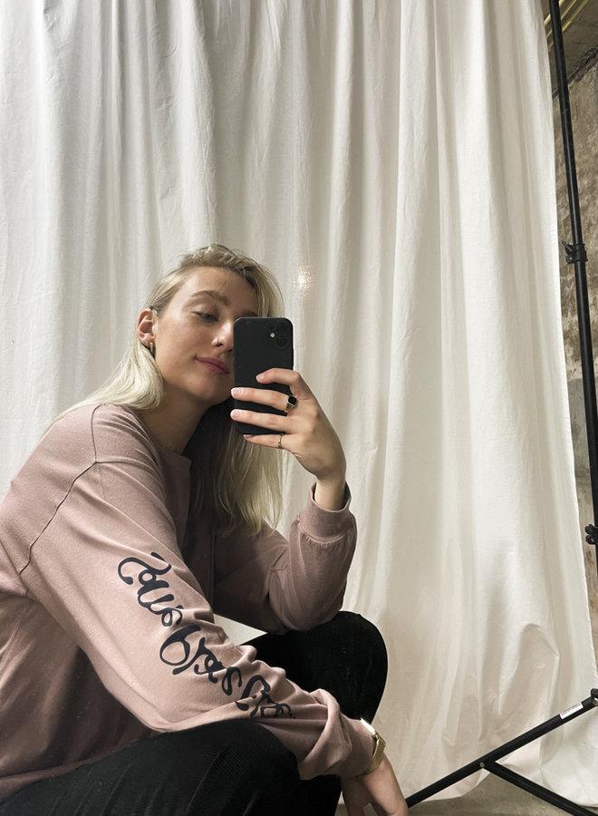 Carhartt Women - W' L/S Transcend T-Shirt - Earthy Pink
