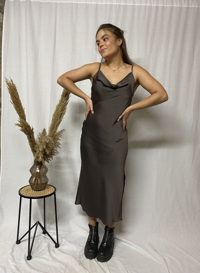 Olivia Dress - Choco