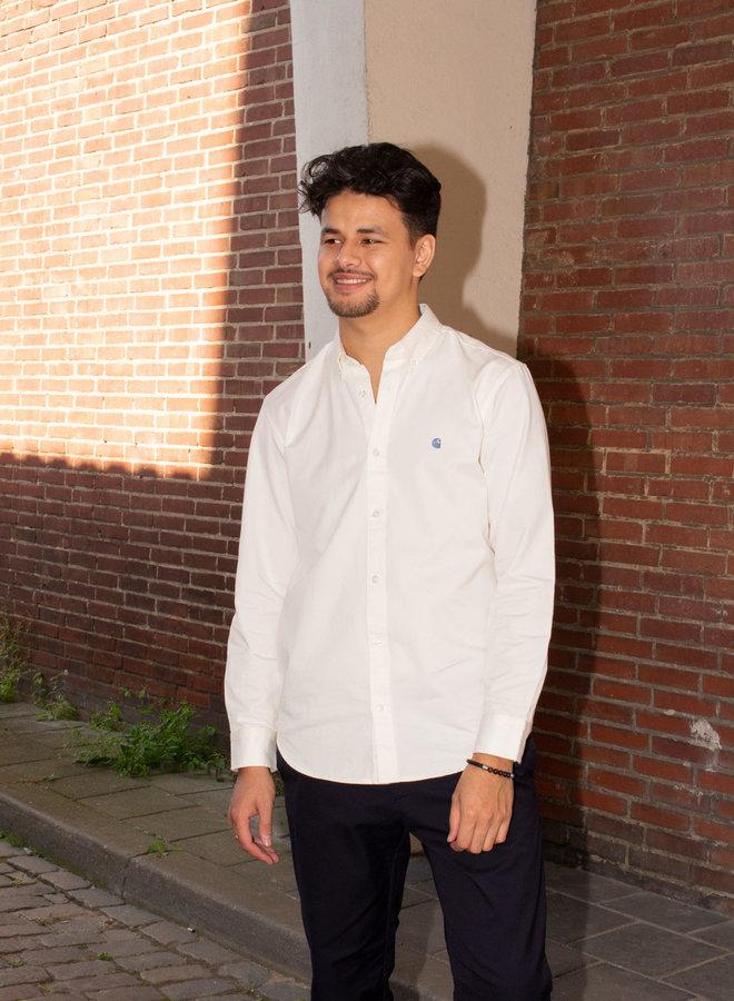 Carhartt Men - L/S Madison Shirt - Wax/Icesheet