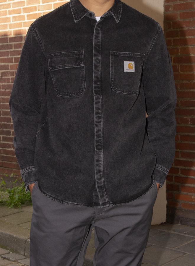 Carhartt Men - Salinac Shirt - Black Stone Washed