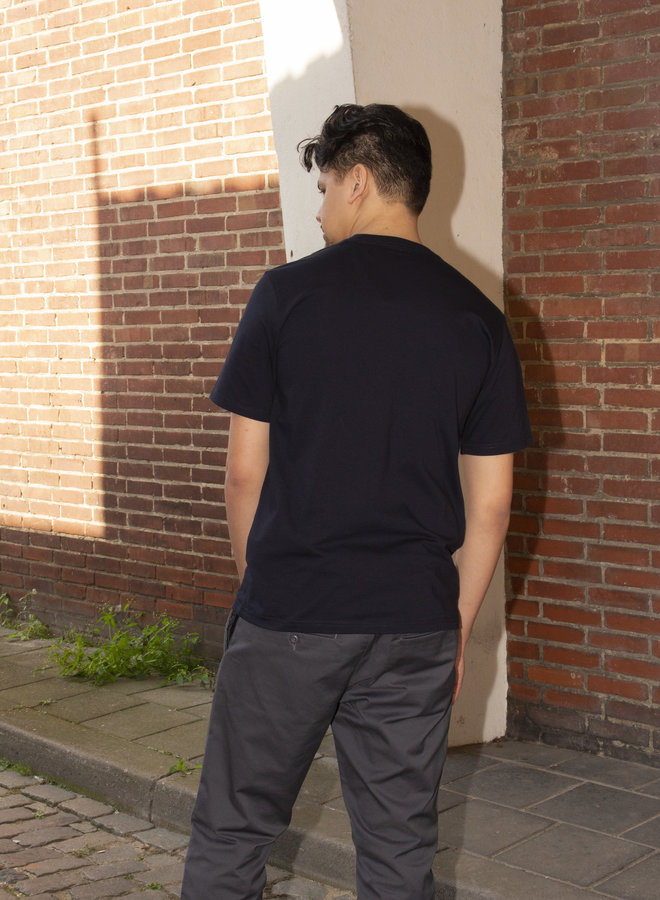 Carhartt Men - S/S Wave C T-Shirt - Dark Navy