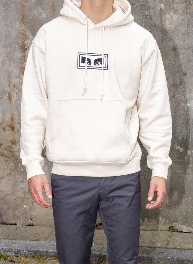 Obey Men - Eyes Logo Hood - Unbleached